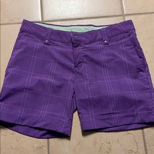 Purple Under Armour Golf Shorts‼️
